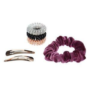 NWT Lauren Conrad Mauve Hair Gift Set